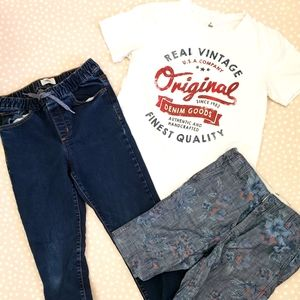 Boys bundle XL - 14 Gap and Old navy Jeans